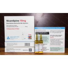 Nicardipine Injection 10mg / 10ml