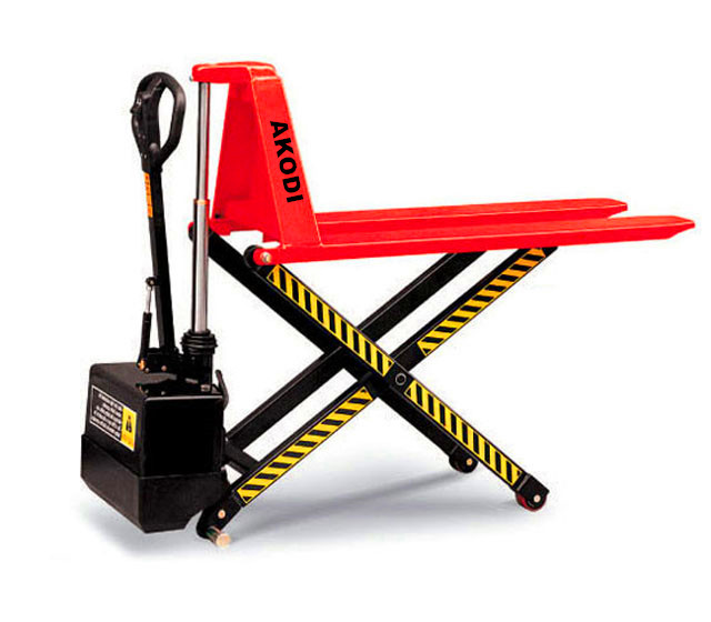 Semi-electric Scissor Pallet Truck