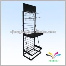 Fabricante de China de alta calidad piso de metal alambre e-cigarette stand