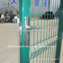 Fabrik verzinkte PVC beschichtete Haus Tor