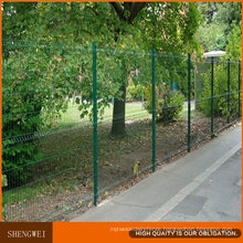 PVC Coated Metal Garden Wire Mesh Fence Panels