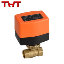 1/2'', 3/4'' and 1'' brass Hot water/Chilled water solenoid ball type valve