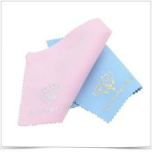 Hot Stamping Microfiber Jewelry Polishing and Cleaning Cloth