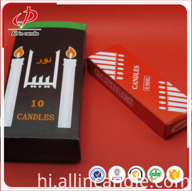 white stick candle (100)