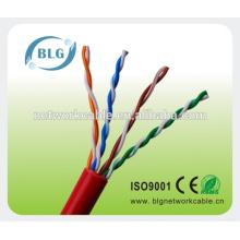 Rede UTP Ccat5e 0,5mm CCA cabos fios passar FLUKE