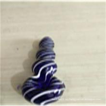 Buena calidad Tubos de mano azules de buen precio para fumar (ES-HP-156)