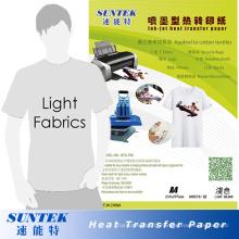 Papier de transfert de presse de la chaleur de couleur A4 en gros (STC-T02)