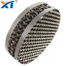 new metal wire gauze structured packing