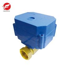 El control de flujo automático de válvula de agua apagado más motorizado