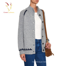 Lã grossa Oversized Sweater Cardigan Roupas