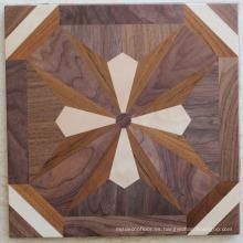 Patrón de nuez para piso de parquet de arte