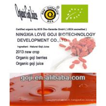 2014 NEW-- Jus de goji biologique