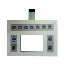 Interruptor de membrana de equipos médicos de calidad estable