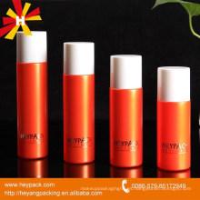 100ml 120ml 135ml botella cosmética del cilindro plástico 150ml
