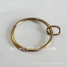 Clássico Design ferro chuveiro ilhota cortina anel