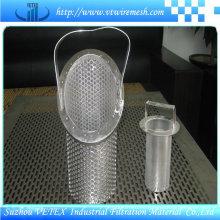 Cilindro de filtro de acero inoxidable 304