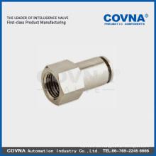 Racor neumático PCFT de acoplamiento rápido de plástico