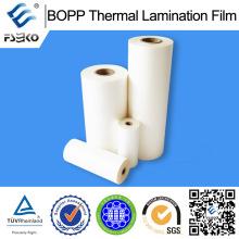 Película de Laminação Térmica BOPP 0.83mil para Indústria de Impressão