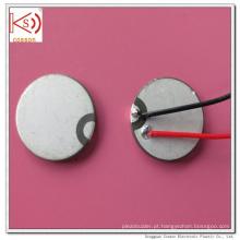 Buzzer cerâmico com eletrodo dupla eletrocardiótica ultra-sônica de 15mm