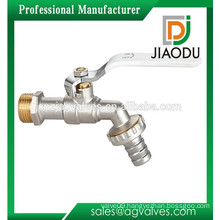 Chrome plated brass forged male thread faucet valve