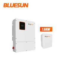 Bluesun Grid Tie Solar Inverter 7.6kw On Grid Hybrid  Mppt Solar Inverter