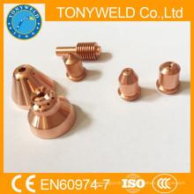 Precio del plasma del electrodo consumible del plasma de China 220669