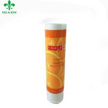 orange body cream fruit pattan packaging tube plastic packaging tube