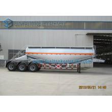 V Shape 3 Axles 35m3 Dry Bulk Tank Trailer