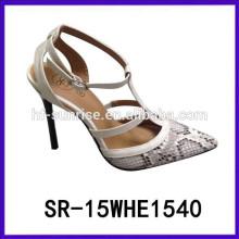 SR-15WHE1540 calza los zapatos atractivos de los altos talones de los zapatos de las señoras de los altos talones de las mujeres zapatos muy altos