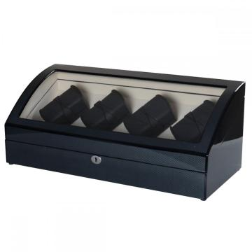 Janpanese Watch Display Winder Cassa in legno