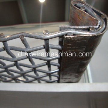 65 Mn Steel Grizzly Wire Screen untuk Agitation Tank