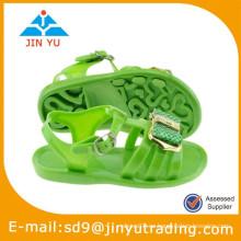 Sandalias de jalea de niño de PVC