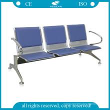 Chaises d'attente en acier inoxydable de qualité supérieure d'attente d'AG-Twc002 et de CE
