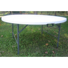 Hot Selling HDPE Plastic Folding Round Table