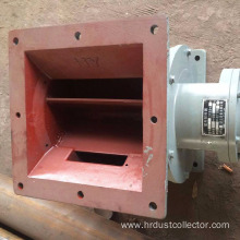 High efficiency gas lock rotary valve