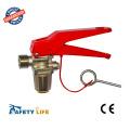 Пена и сухой порошок огнетушитель красный клапан с стандартом CE