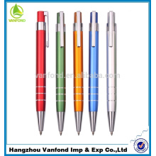 Top Quality Cheap Price Logo Aluminium Metal Promotion Pen