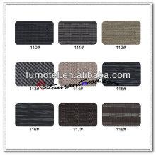 T097 450 * 300 mm PVC acanalado Color oscuro mantel