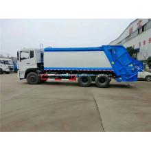 Dongfeng 6x4 гидравлический задний погрузчик мусоровоз
