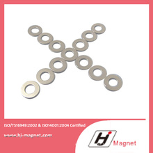 Ímã de NdFeB venda quente anel fabricado de acordo com ISO9001