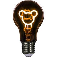 Various Shape Coloured Flexible Filament Cartoon LED Bulb