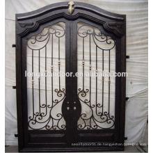 Externe Sicherheitstüren schmiedeeisernen Tür Torentwürfe