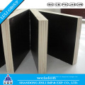 Finger Joint Film Film Faced Plywood para Nigeria