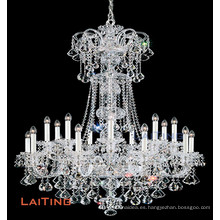 Crystal Chandelier/Pendant Light with Candle Bulbs LT-81147