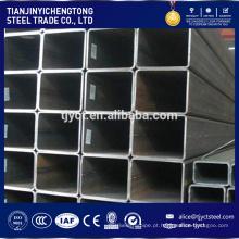 Tubo quadrada de aço do tubo 40 * 40 oco soldado ERW Q 235 quadrado