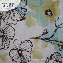 Modernes Design Digital Print Velvet Fabric