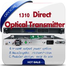 Émetteur de fibre CATV à 1310nm à modulation directe économique