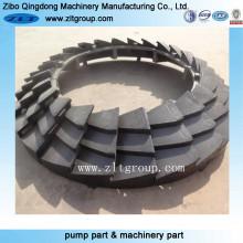 Piezas de fundición de hierro fundido de acero inoxidable / fundición de arena