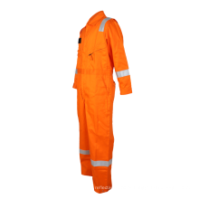 macacões de segurança resistentes a chamas laranja