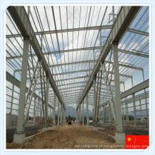 Estrutura de Estrutura de Aço de Múltiplos Alcances para Armazém